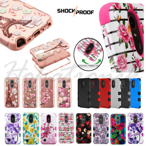 For-LG-Stylo-4-Plus-HYBRID-Armor-Impact-Rubber-Shockproof-Rugged-TPU-Case-Cover