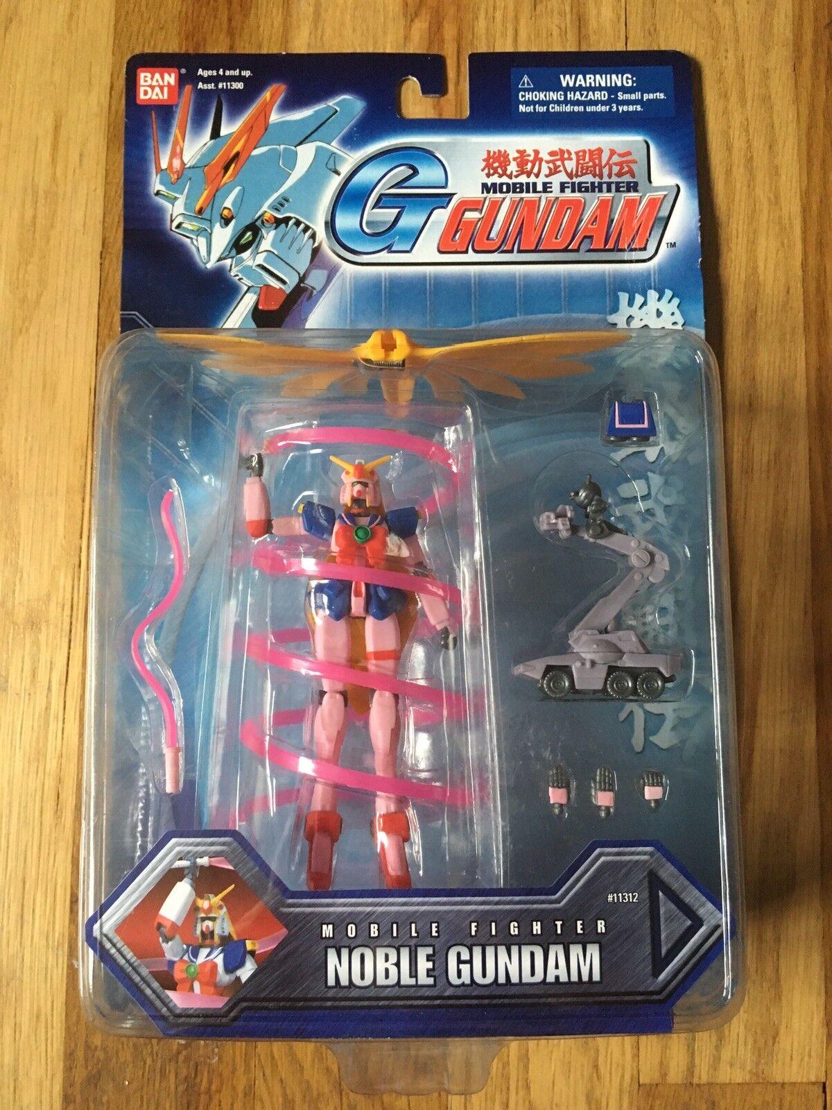 Bandai G Gundam Mobile Fighter Noble Gundam Figure
