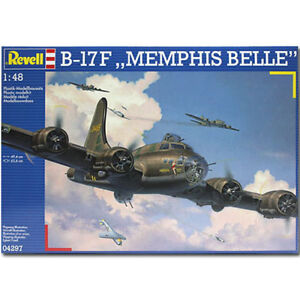 REVELL-B-17F-Memphis-Belle-1-48-Aircraft-Model-Kit-04297