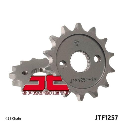 1 JT Front Sprocket JTF1257.14 to fit Honda CR 85 R-3,4 2003-04
