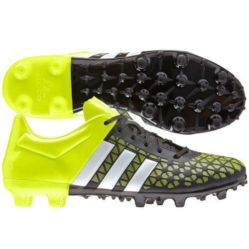 34b242c7f adidas Ace 15.3 TRX FG   AG 2015 Soccer Shoes Brand New Black   Yellow