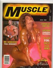 Muscle Training Dan Lurie Bodybuilding Fitness Magazine Nicole Bass/WWE WWF 8-86