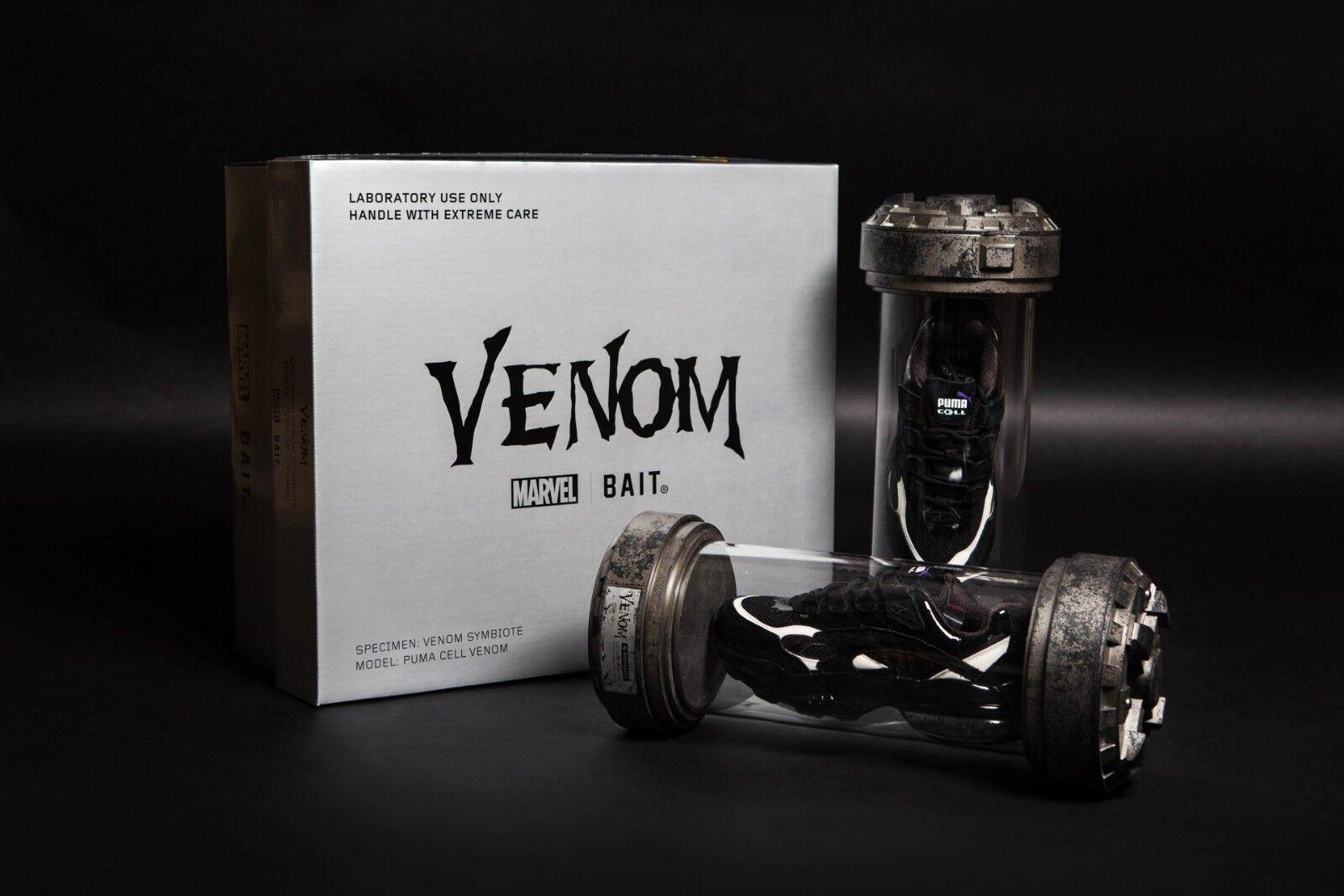 BAIT x Puma Cell Venom Sz 10.5 Marvel MCU NYCC Exclusive