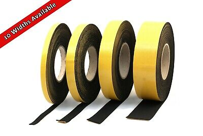 RUBBER STRIP 50mm wide x 2mm thick x 5m long SOLID NEOPRENE BLACK RUBBER