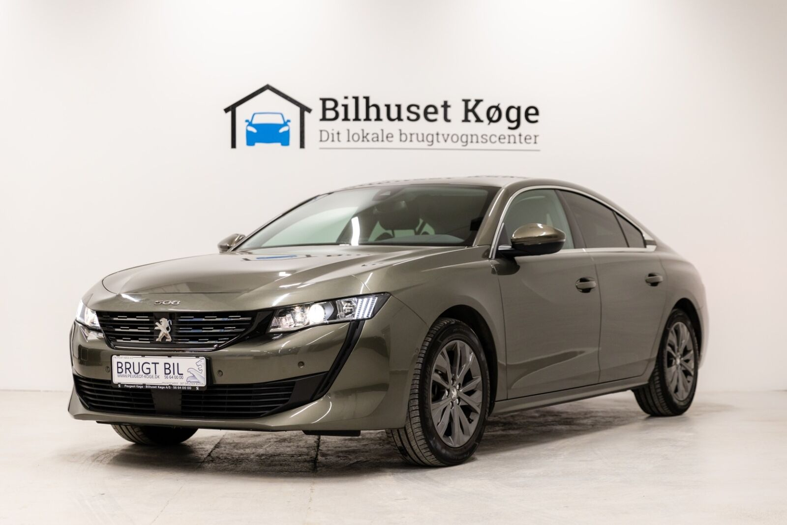 Peugeot 508 1,5 BlueHDi 130 Allure EAT8 4d - 269.900 kr.