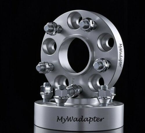 Wheel Spacer Adapters 25 mm 5x114.3 56.1 mm Hub Centric 2 pcs Subaru WRX STI