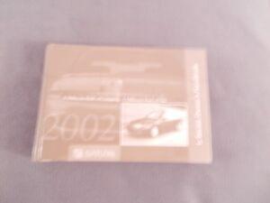 2002 saturn l series owners manual ebay rh ebay com 2002 Saturn L100 2002 saturn l200 service manual