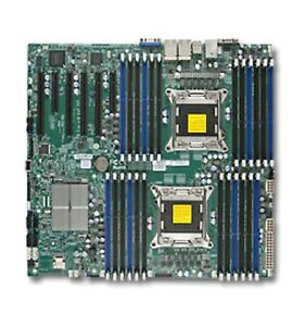 Supermicro X9DRi-LN4F+ Dual Socket Motherboard  *v1 and v2 CPU support **