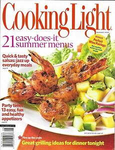 Captivating Image Is Loading Cooking Light Magazine Summer Menus Grilling Recipes Salsa  Awesome Design