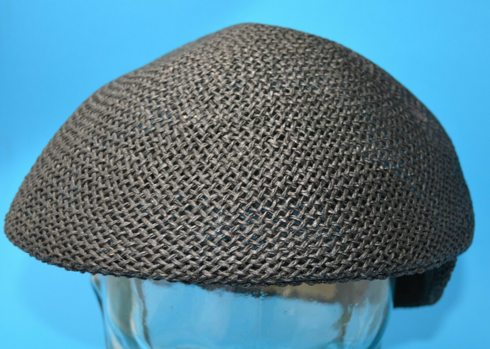 A Adams & Spire black straw CAP XL - image 2