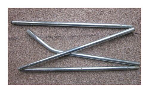 Outwell Montana 6 Canopy Side pole acier peut s/'adapter à d/'autres.