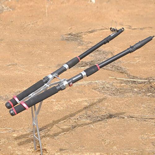 Fishing Rod Stand Holder Foldable Adjustable Bracket Fishing Tackle Accessory