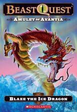 Beast Quest #23: Amulet of Avantia: Blaze the Ice Dragon by Blade, Adam, Good Bo