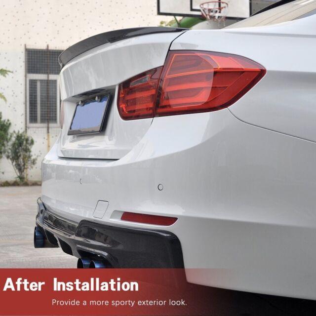 BMW 3 SERIES F30 REAR BOOT TRUNK LIP SPOILER PERFORMANCE LOOK
