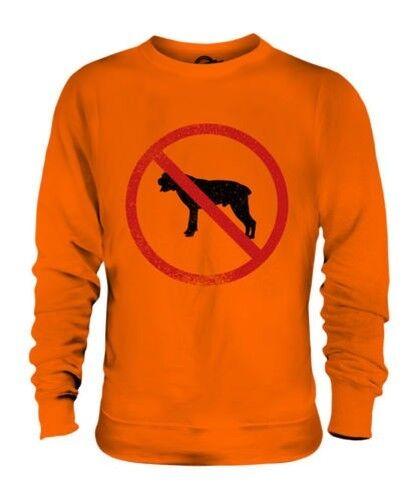 Cynophobia ( Fear Of Cani) Unisex Maglione Regalo Phobia Spaventato