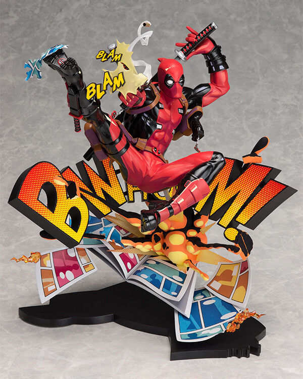 Marvel Superhero Deadpool Breaking The Fourth Wall  Ver. PVC Figure nouveau In Box  prix les plus bas