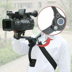 Hands Free Shoulder Support Mount Pad For Video Camcorder Camera DV / DC HD DSLR