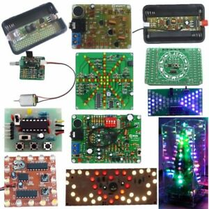 image is loading diy kits fm transmitter christmas led flashing light