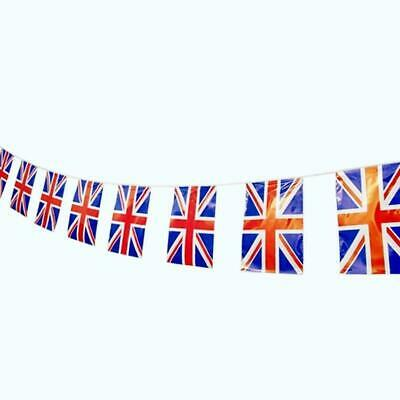 BUNTING Union Jack 40 Flags British Royal Queens Team GB Olympics 2 Packs