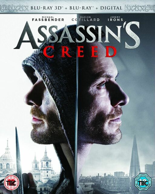 Assassins Creed 3D+2D Blu-Ray Nuevo Blu-Ray (6367215000)