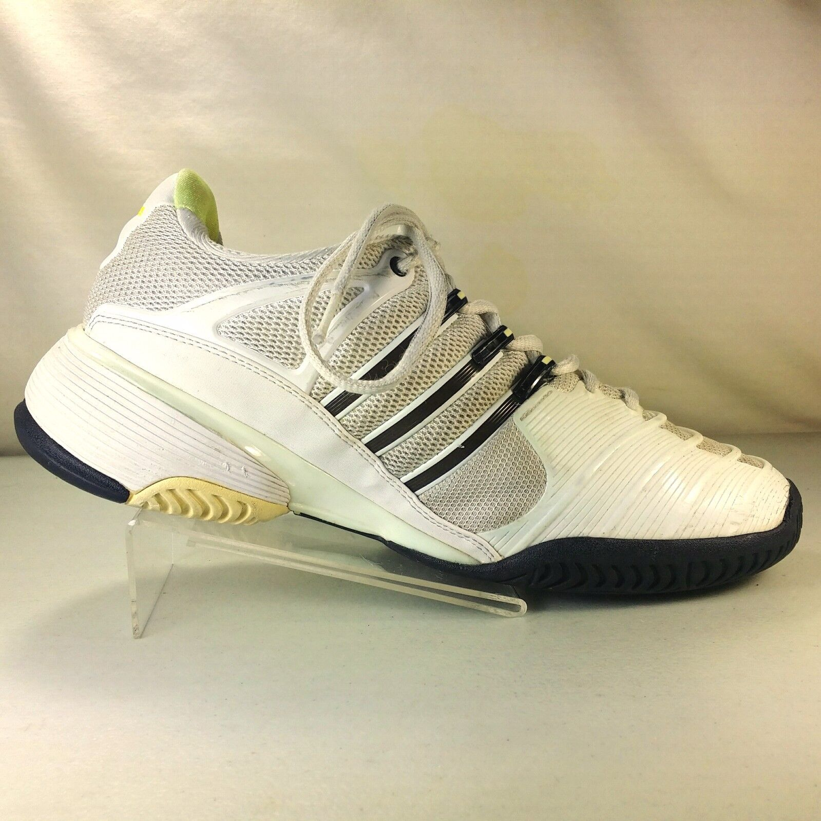 Adidas Barricade Torsion System Womens White  Athletic Shoes Size 7.5