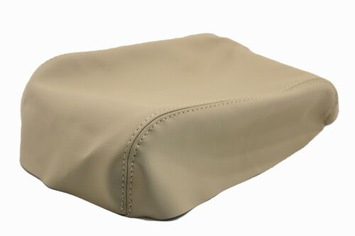 Fits 04-10 Volkswagen Touareg Real Leather Beige Center Console Armrest Cover