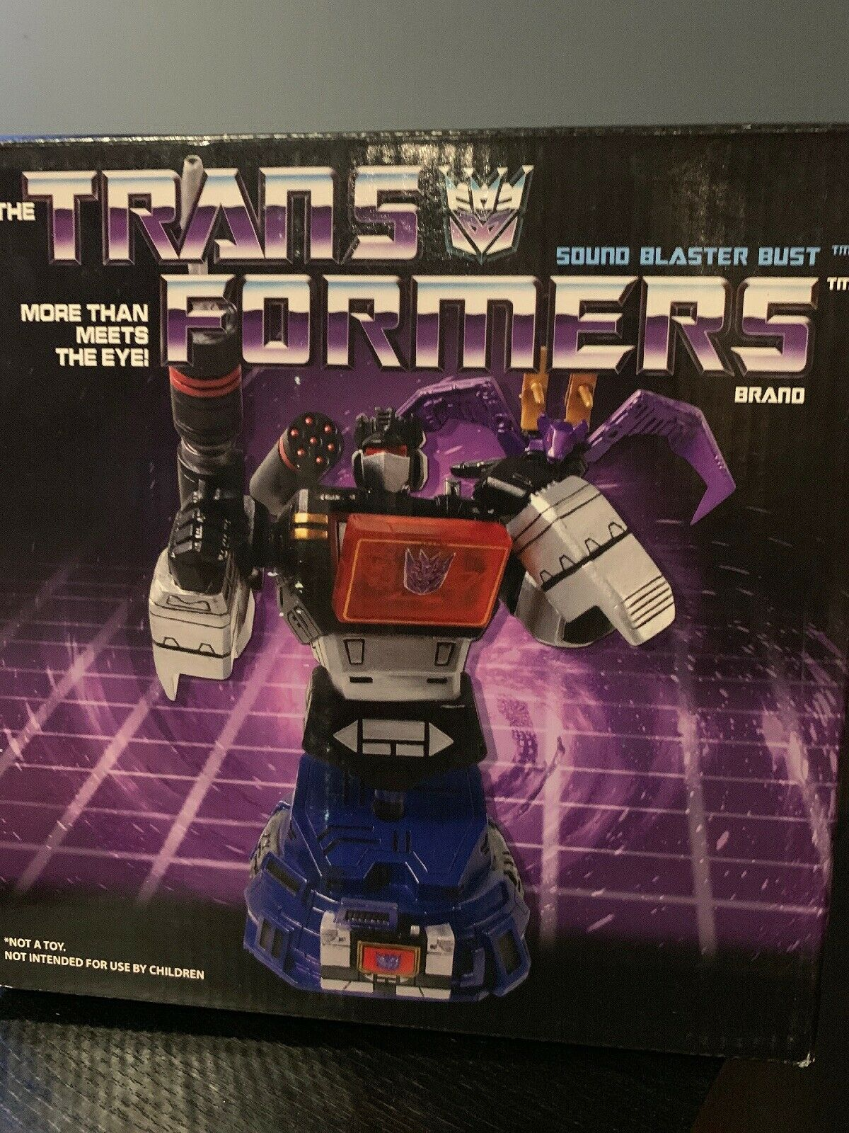 Transformers Diamond Sound Blaster Bust Soundwave Ratbat