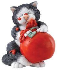 Linda Jane Smith Comic and Curious Cats Sauce Figurine Ornament 8cm A27685