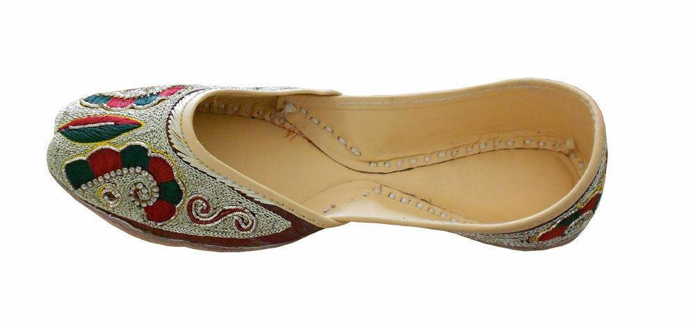 Women shoes Indian Handmade Ballet Flats Jutties UK 4.5 EU 37.5
