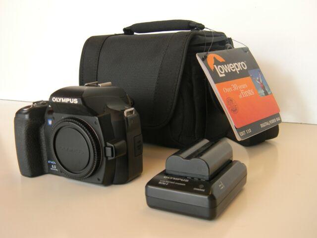 Olympus EVOLT E-500 8.0MP Digital SLR Camera - Black (Body Only) (262060)
