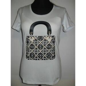 Donna Maglia T Ean Swarovski 13 shirt Bianco wqI0xrq
