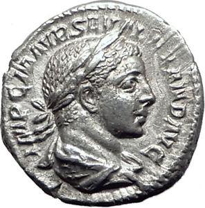 SEVERUS-ALEXANDER-223AD-Authentic-Ancient-Silver-Roman-Coin-JUPITER-i65083