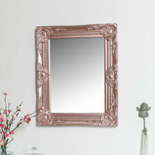 Innova 20x20 Inches All Glass Square Wall Mirror With Bevelled Rose Gold Panels For Sale Online Ebay