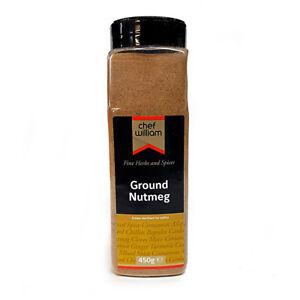 Nuez-Moscada-terreno-Chef-William-450g-Agitador-una-calidad-del-grado