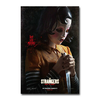 The Strangers Prey at Night Johannes Roberts Art Silk Poster 13x20 24x36 inch