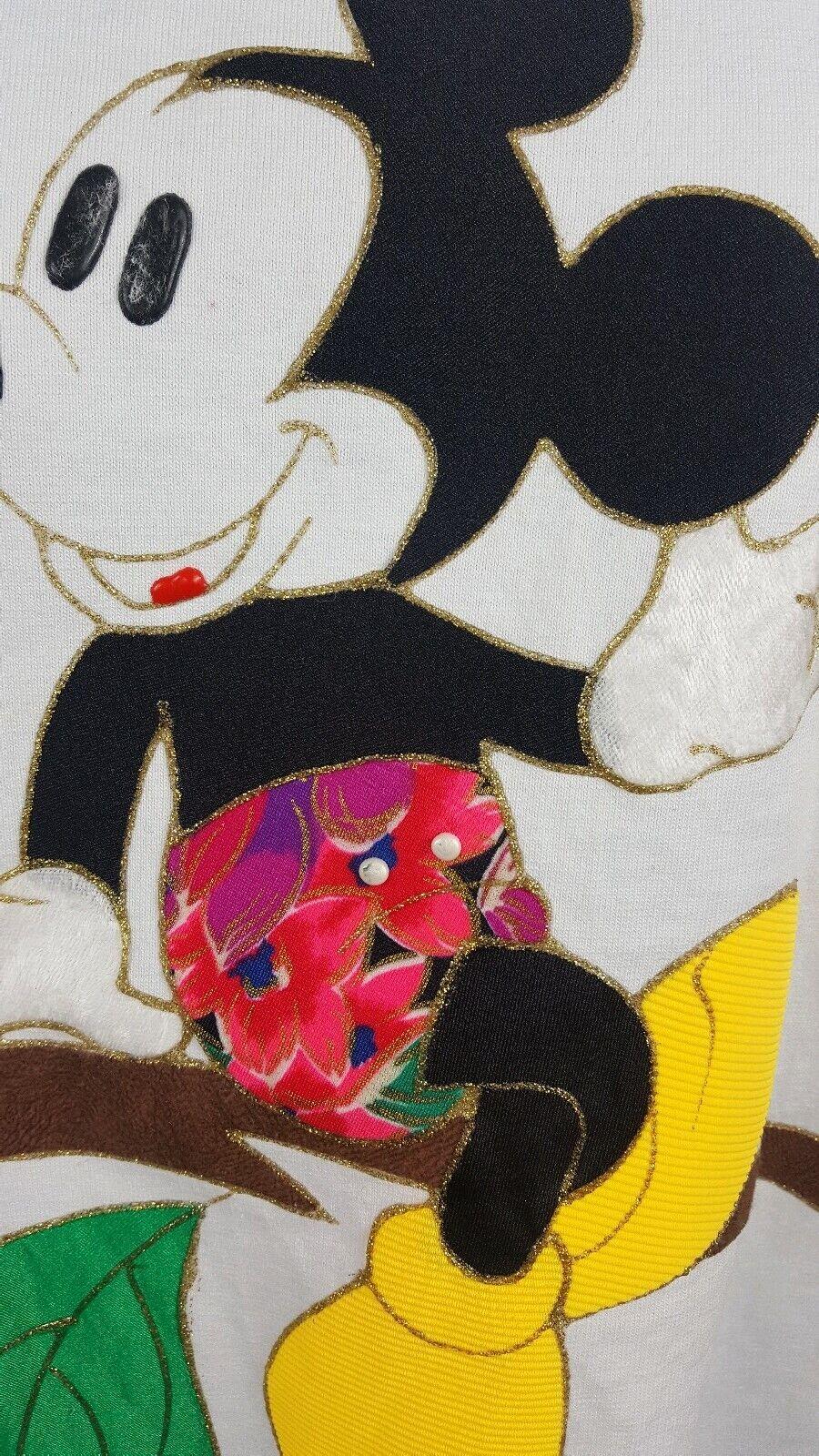 Walt Disney World Vintage 80s-90s Mickey Mouse Em… - image 5