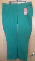 Lee Platinum Collection Classic Fit Straight Leg Sz 24 W M Peacockteal Jeans