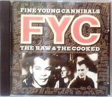 Fine Young Cannibals - The Raw And The Cooked (CD 1988) I.R.S. MCA