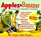Favorites Series: Apples and Bananas [Digipak] by Various Artists (CD, Sep-2011, Music for Little People)