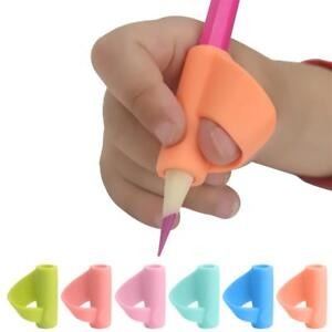4~20pcs Pencil Grip Tool Soft Rubber Pen Topper For Kid Handwriting Aid Useful