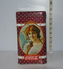 """New Old Stock 19/"""" X 15/"""" /""""Vintage/"""" COCA-COLA LOGO PLASTIC BAG w//CUT OUT HANDLE"""