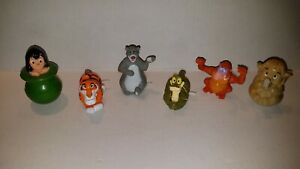 1989-McDonald-039-s-Disney-039-s-The-Jungle-Book-Happy-Meal-Toys-Complete-Set-of-6