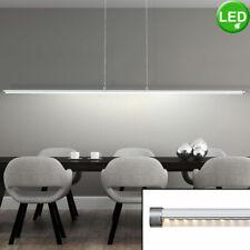 LED Decken Pendel Hänge Lampe Leuchte Chrom Beleuchtung Wohn Schlaf Zimmer Büro