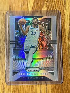 2019-20-Karl-Anthony-Towns-Panini-prizm-silver-parallel-Timberwolves