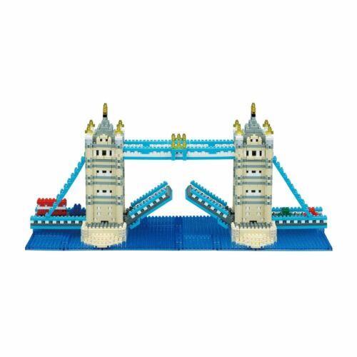 NB045 Nanoblock Tower Bridge Deluxe Edition Blocs de construction 1510 pièces 12 ans