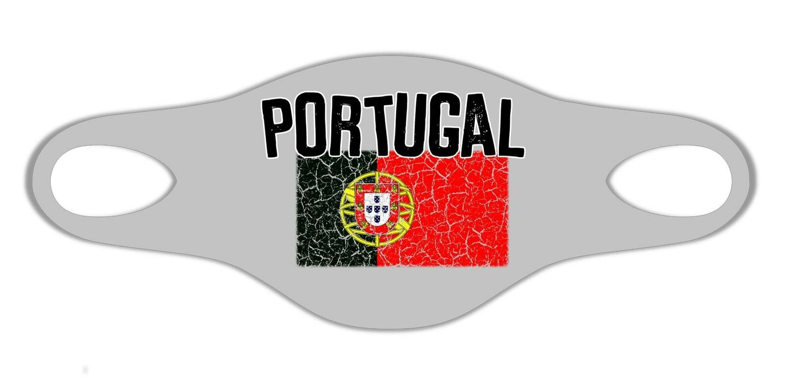 Portugal Patrio Flag Printed Face Mask Protective Reusable Washable Breathable