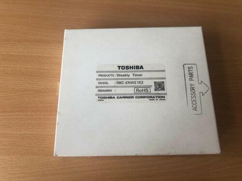 Toshiba RBC-EXW21E2 cablato TIMER SETTIMANALE A//C remote controller Toshiba RBC