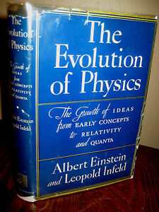 1st-Edition-EVOLUTION-OF-PHYSICS-Albert-Einstein-Leoplold-Infeld-LATER-PRINTING