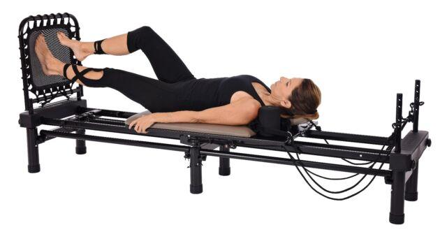 Stamina AeroPilates Reformer 651 Pilates Exercise with Stand /& Cardio Rebounder