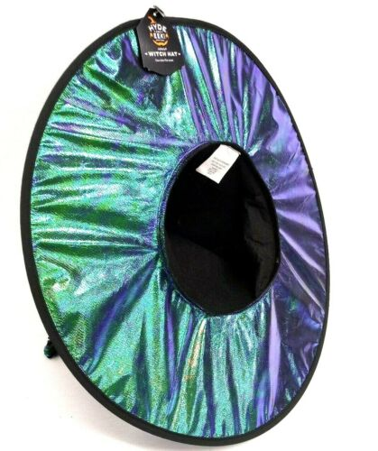 New Boutique 2 Way Flip Flop Sequins Halloween Witch Hat Costume Hyde And Eek